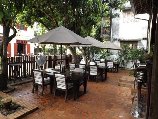 Hotel 3 Nagas Luang Prabang MGallery by Sofitel : Comedor