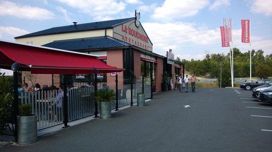 La Boucherie : Terrasse