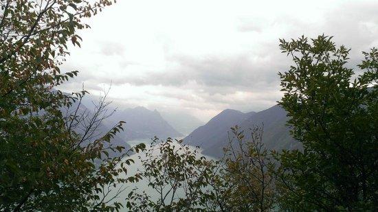 Monte San Salvatore: Aussicht
