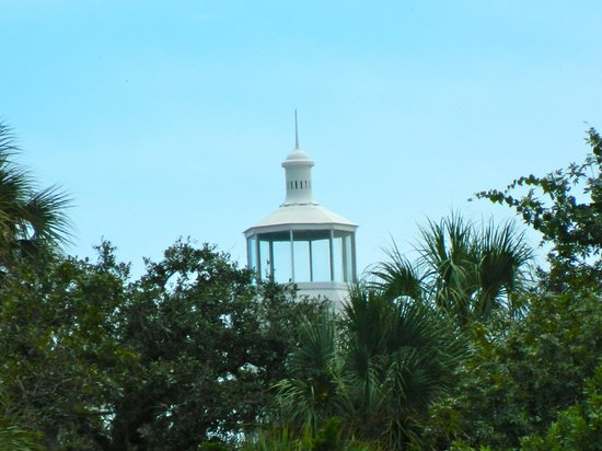 Seahorse Key: Top of the lighthouse