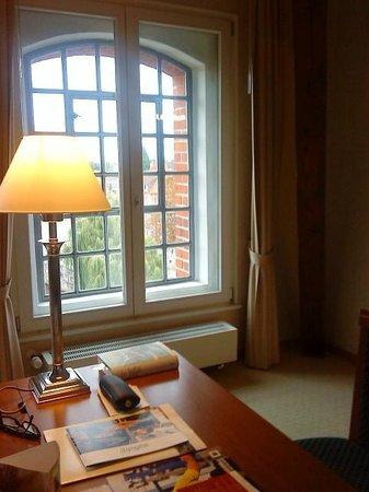 Hotel Bergstrom: Hafensuite Blick aus dem Zimmer