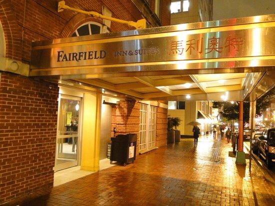 Fairfield Inn & Suites by Marriott Washington, DC/Downtown: Hotel Entrance