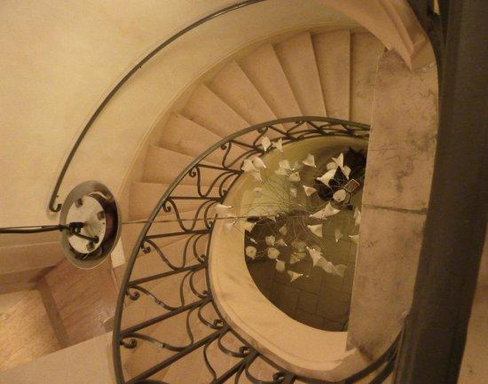 Hotel des Prelats : Staircase