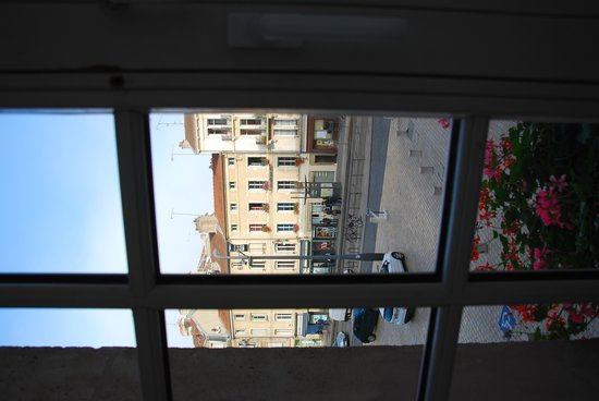 Hotel des Prelats : View from our window
