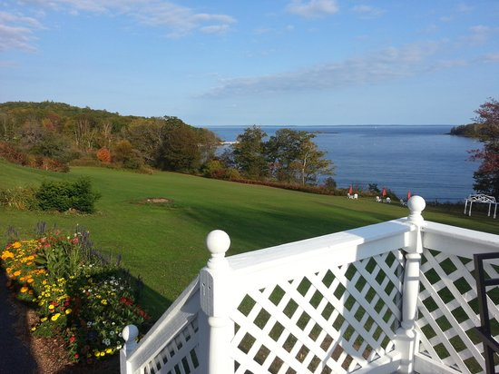 Ledges By the Bay: view from coveside retreat