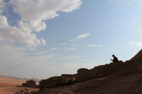 The Bedouin Meditation Camp: Coucher de soleil