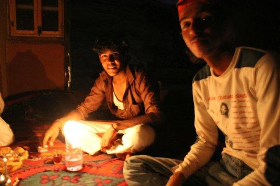 The Bedouin Meditation Camp: Repas