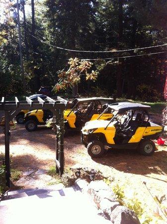 Camp Explora Electric ATV Adventures: Les Quad