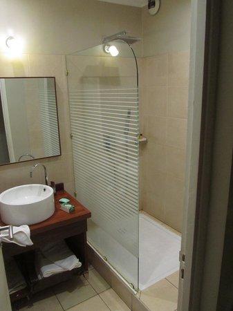 La Residence du Rova : The shower and sink