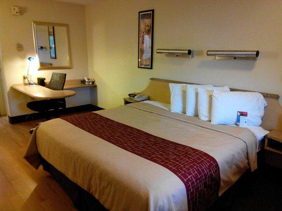Red Roof Inn Salem : King Size Bed