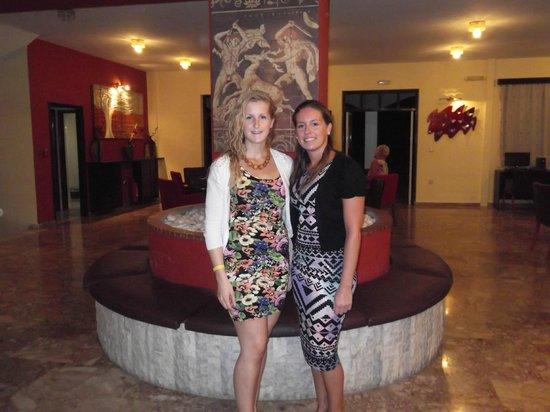 Vallian Village Hotel : hotel reception