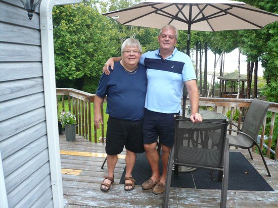 Bear Cove Bed and Breakfast: Jim & Doug
