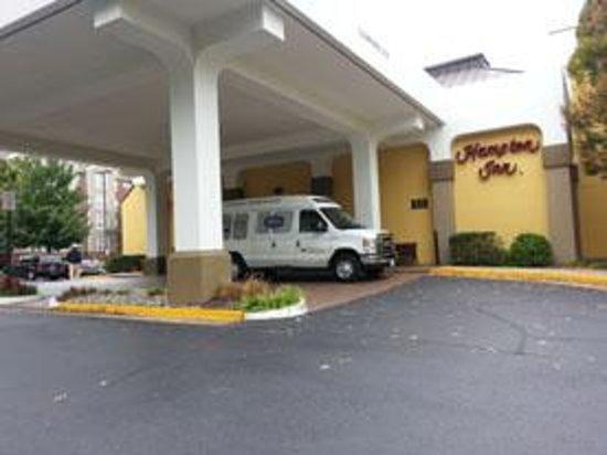 Hampton Inn Alexandria/Pentagon South: Hotel