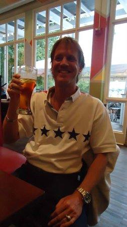 Not Your Average Joe's : My husband celebrating his birthday !