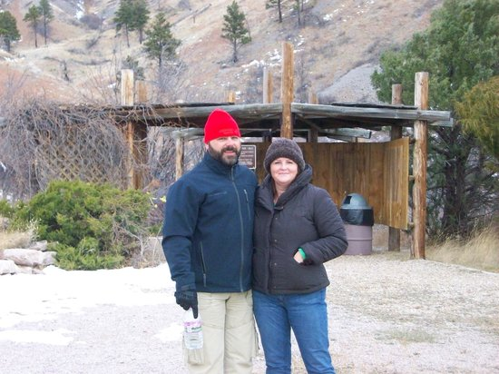 Bear Butte State Park: Me and my husband