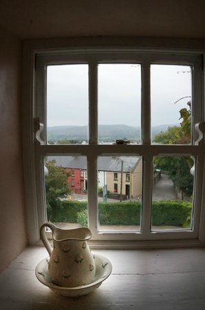 Castlemorris House: View from our room