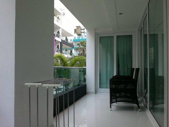 Siam Palm Residence : Balcony