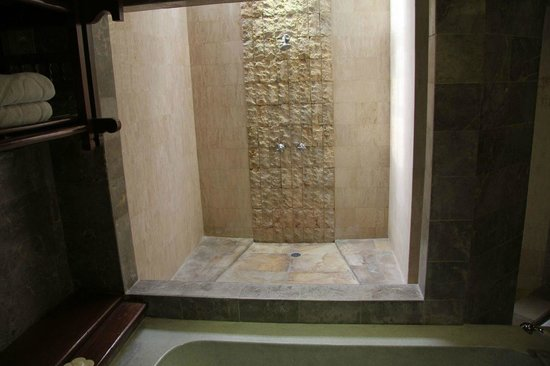 Grand Balisani Suites: The Shower