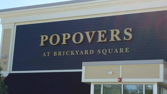 Popovers On The Square: Sign