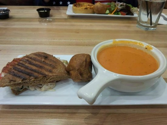 Popovers On The Square: My meal
