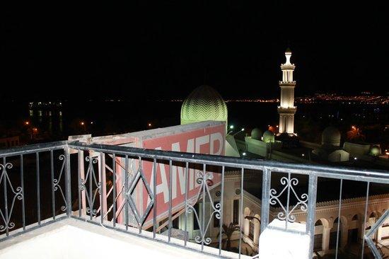Al-Amer Hotel: Le golfe la nuit depuis l'hôtel