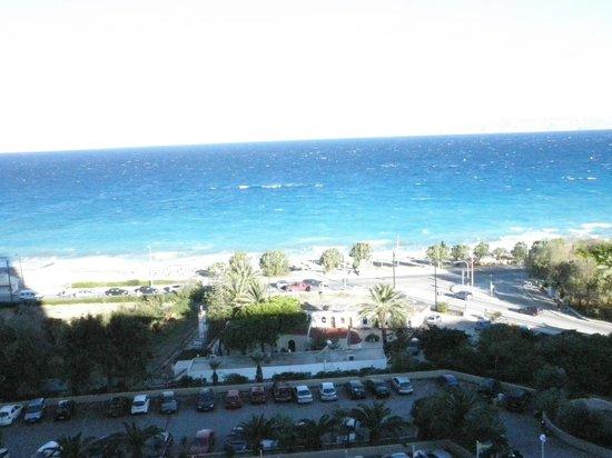 Rodos Palace: vue de la chambre 6 éme étage