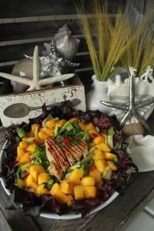 The Southern Grind Coffee House at The Wharf: Our Salads are Amazing