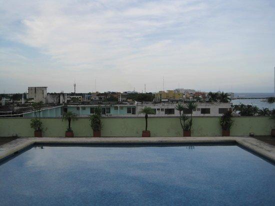 Cozumel - Hotel Plaza Cozumel - Rooftop Pool