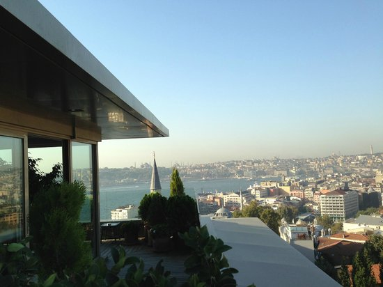 Witt Istanbul Suites : another view from our hotel balcony