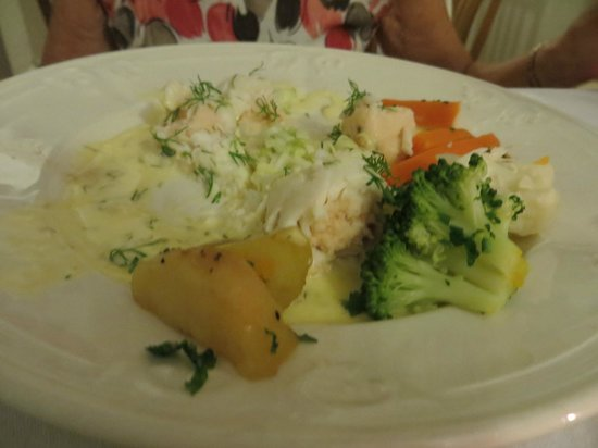 @Angela's: Delicious fish meal