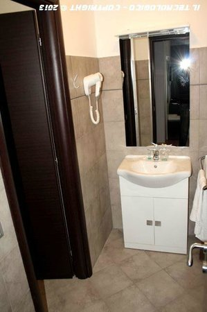 Hotel Faenza: Lavandino