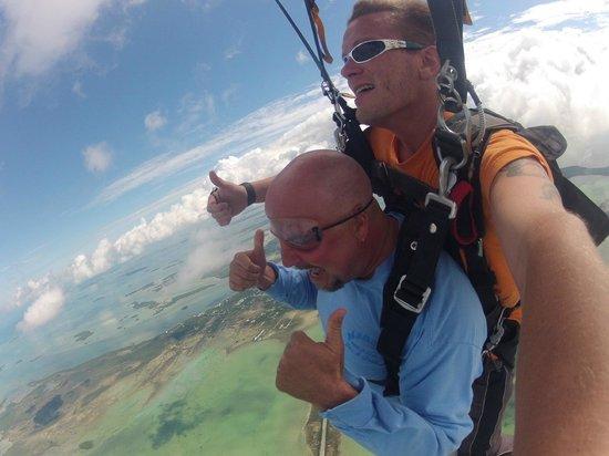 Skydive Key West : SKY HIGH!!
