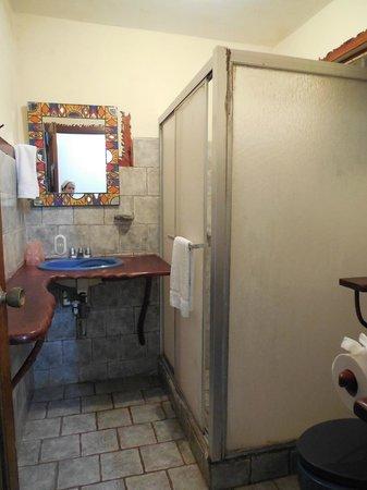 Hotel Luz de Mono : Baño