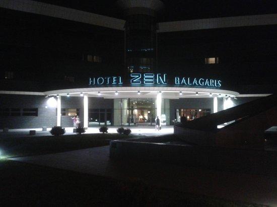 Hotel Zen Balagares: Entrada al hotel