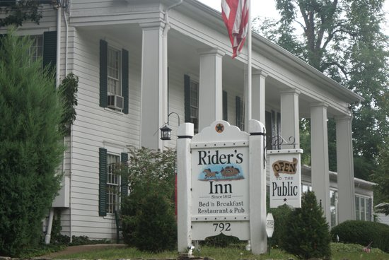 Rider's Inn: The Inn was a stop on the underground railroad and a retreat for