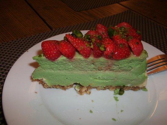 Berko : Pistache-fraises