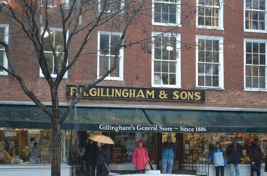 Woodstock Town Crier: Gimmingham's Department store