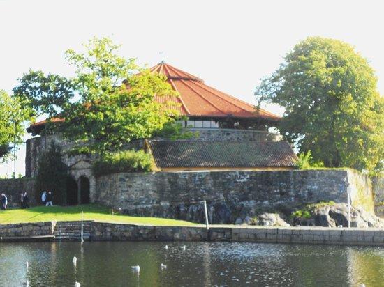 Fortress near Otterdalsparken, Kristiansand Norway