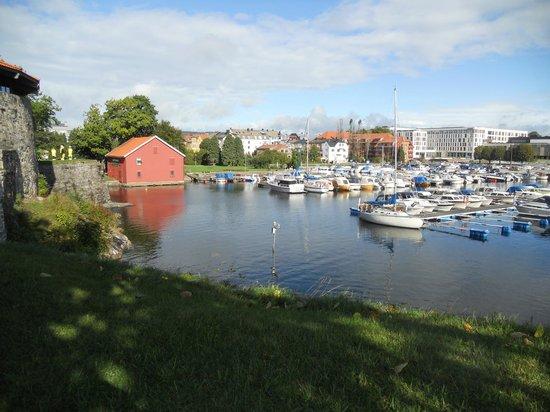 Kristiansand, Norway marina is near Otterdalsparken