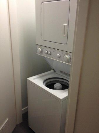 Boulan South Beach: Washer/dryer