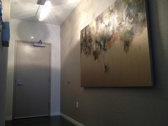 Boulan South Beach: Entry hallway