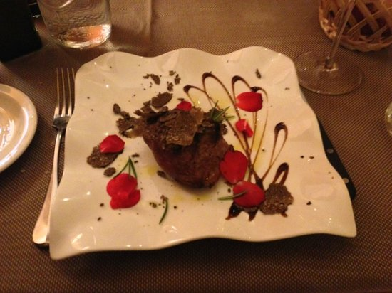 Ristorante Cortefreda: the filet