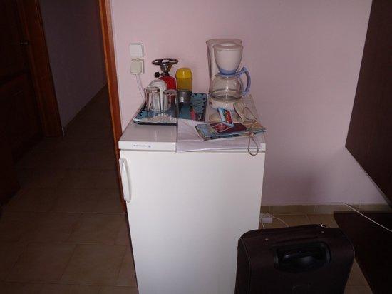 Petritos Hotel: frigorifero da camera