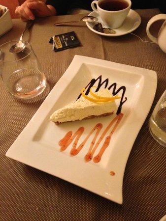 Ristorante Cortefreda: cheesecake (very soft)