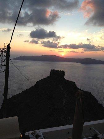 Hotel Sunny Villas: sunset