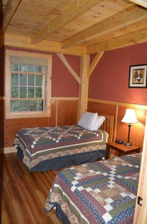 Robert Frost Mountain Cabins: One bedroom