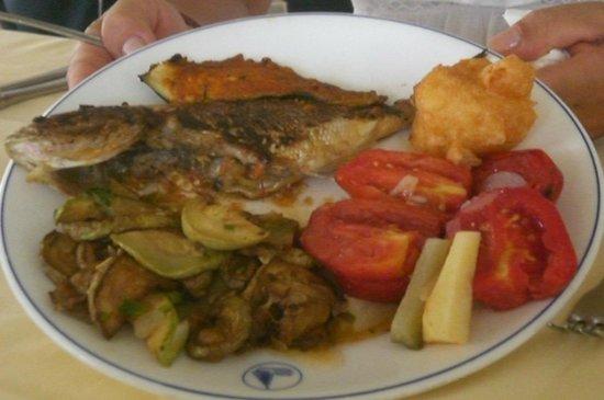 El Mouradi Club Kantaoui: cibo