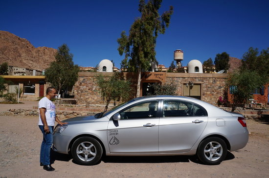 St. Catherine's Monastery: Mohammed Saadi our driver