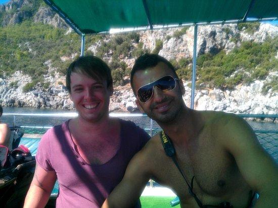 Mega Diana Boat Trip-Tours: Matty