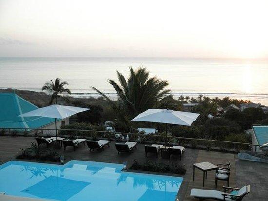 Blue Margouillat Seaview Hotel: Vue de notre balcon